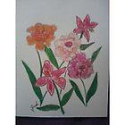 Petunias by Judi Corey