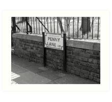 penny Lane Liverpool Art Print