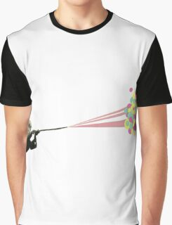Water Fight Graphic T-Shirt
