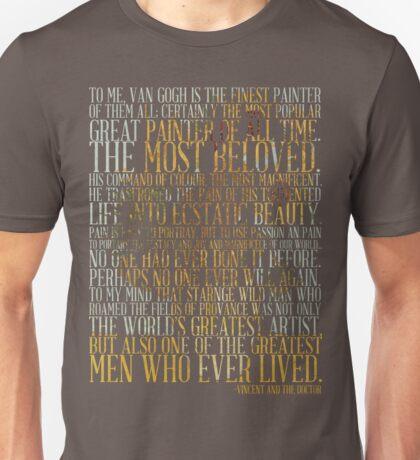 vincent 2.0 light version (Doctor Who) Unisex T-Shirt