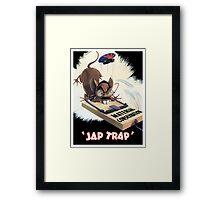 Material Conservation - Jap Trap - WW2 Framed Print