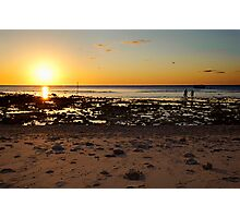 Sunset Lady Elliot Island Photographic Print