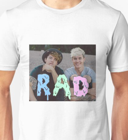 Kian and Jc RAD Unisex T-Shirt