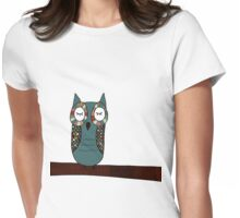Owl Be Seeing You Womens Fitted T-Shirt