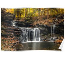R.B. Ricketts Falls (closer) Poster