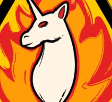 Fire Hazard  Sticker
