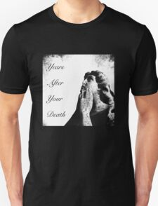 Years After Your Death - Black & White Angel T-Shirt