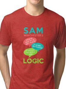 SAM WINCHESTER'S LOGIC Tri-blend T-Shirt