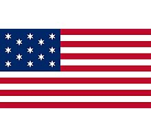 Francis Hopkinson First American Flag (1777) Photographic Print