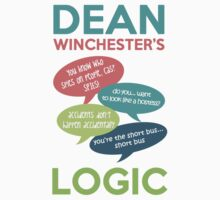 DEAN WINCHESTER'S LOGIC by saltnburn