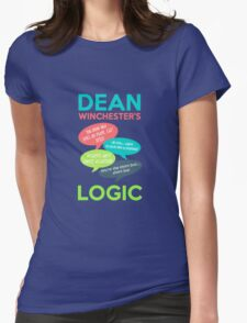 DEAN WINCHESTER'S LOGIC Womens Fitted T-Shirt