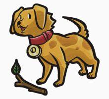 Dog Playing Fetch by SaradaBoru