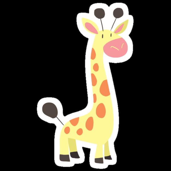 Cute Giraffe by SaradaBoru