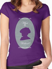 What is a Weekend? Women's Fitted Scoop T-Shirt