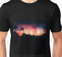 Galactic Sunset Unisex T-Shirt