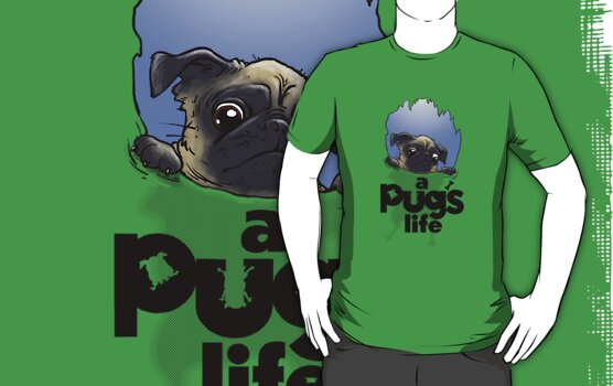 a Pug's life ...  by Bleee