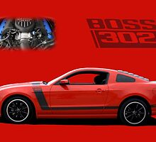 2013 Mustang Boss 302 by TeeMack