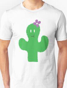 Cutesy Flower Cactus T-Shirt