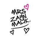 One Direction - Mrs. Zayn Malik by LemonScheme