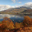 Ben Nevis in Autumn. by John Cameron