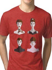Audrey Style Tri-blend T-Shirt