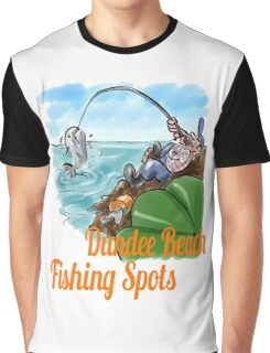 Fishing Spots Graphic T-Shirt