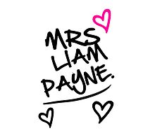 One Direction - Mrs. Liam Payne by LemonScheme
