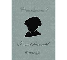 Violet Crawley Photographic Print
