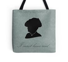 Violet Crawley Tote Bag