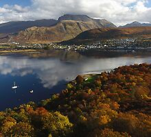 Lochaber in autumn. by John Cameron