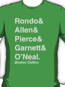 2010-2011 Boston Celtics Jetset T-Shirt