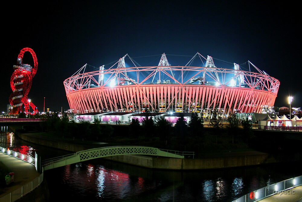 Olympic Stadium in Stratford by copacic