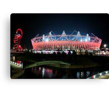Olympic Stadium in Stratford Canvas Print