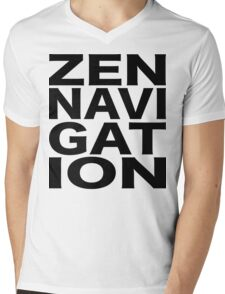 Zen Navigation Mens V-Neck T-Shirt