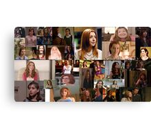 Alyson Hannigan Canvas Print