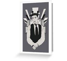 Presenting BUSTER KEATON Greeting Card
