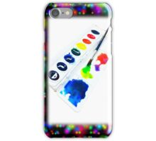 Water Color Paint iPhone Case/Skin