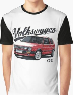 volkswagen golf mk.2 Graphic T-Shirt