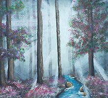 Silent Serenity - 1 by Dana Al-Aghbar