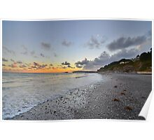 Cornwall: Final Light at Seaton Poster