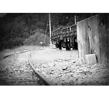 Goodbye Train Photographic Print
