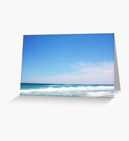 Perfect Wave 18 10 10 12 Greeting Card