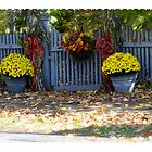 Autumn Fence by DreamCatcher/ Kyrah Barbette L Hale