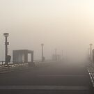 Deal Pier Mist by Sue Robinson