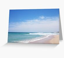 Perfect Wave 14 -  10 10 12 Greeting Card