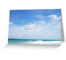 Perfect Wave 12 -  10 10 12 Greeting Card