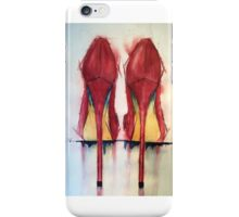 Red Shoes - Girls' Best Friends iPhone Case/Skin