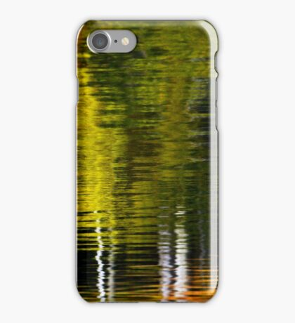 Abstract Trees Water Reflection iPhone Case/Skin