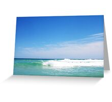 Perfect Wave 9 -  10 10 12 Greeting Card
