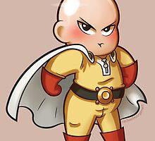 One Punch Man - Saitama Chub by Rachael Morgan
